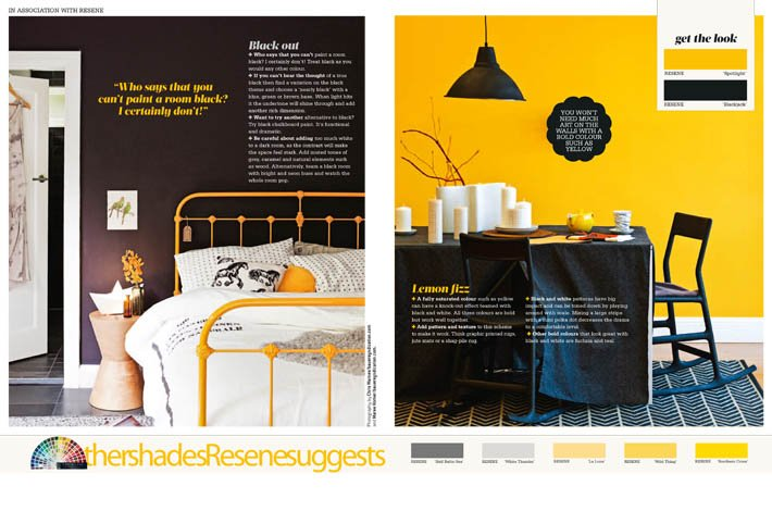 Colour Story in Your Home and Garden Magazine