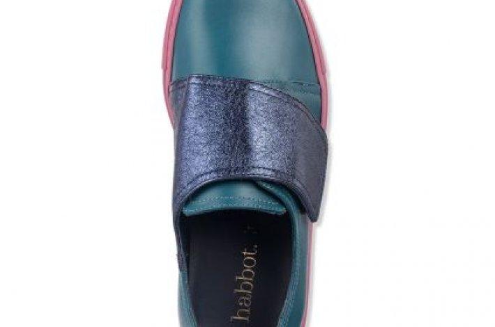 Munro Navy shoe by Habbott