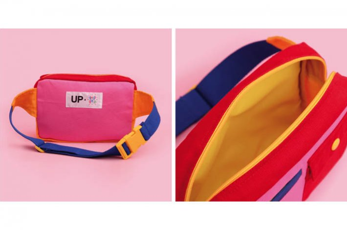 UP x Popiro Sunset Bum Bag