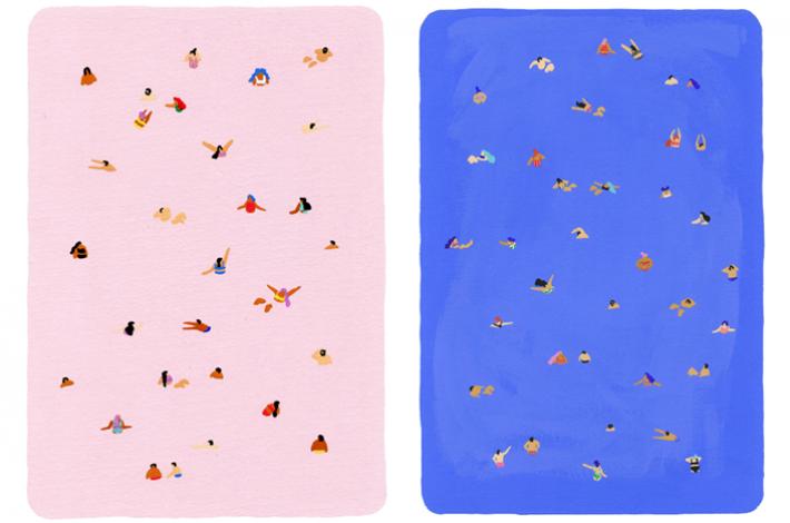 Helo Birdie - Art by Joanne Ho