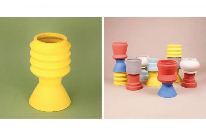 Cool Machine Flower Pot Totems