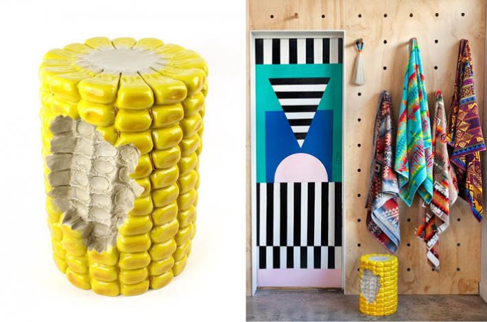 Giant Corn Cob Stool by Third Drawer Down