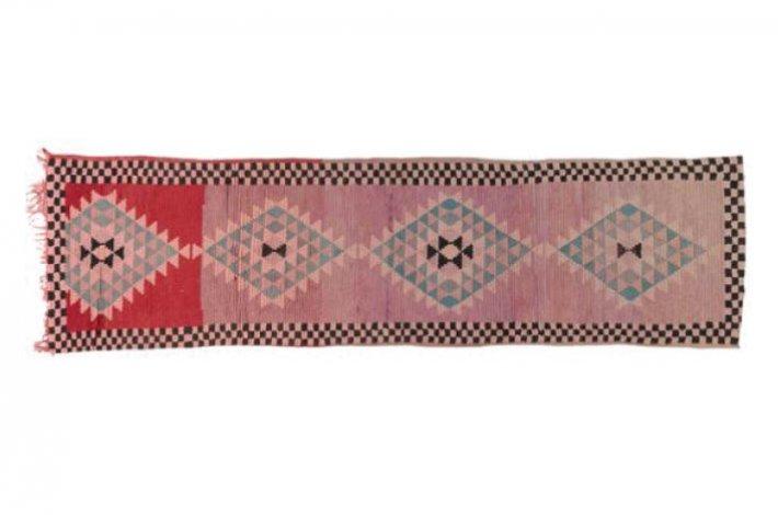 Vintage Hall Runner Moroccan Rug by Marr + Kett