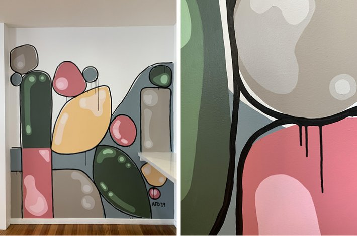 Chère Chérie Mural by Alex Fulton