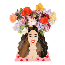 Iconic Beyonce Vases by Lovestar