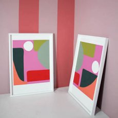 The Twins limited edition print by Alex Fulton
