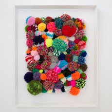 Pompom Art for Rapaura School Auction